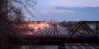 Tillman Yard from the Chattahoochee Avenue Bridge